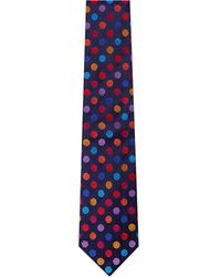 Duchamp Regular Dots Tie Tulip - Lyst