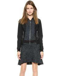 Nina Ricci Long Sleeve Jacket Vert Sapin Multi - Lyst