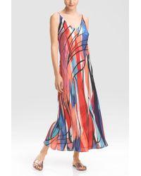 Natori Fiji Gown - Lyst
