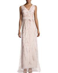 Carolina Herrera Bead-embellished Tulle Gown - Lyst