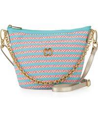 Eric Javits Dame Squishee® Shoulder Bag blue - Lyst