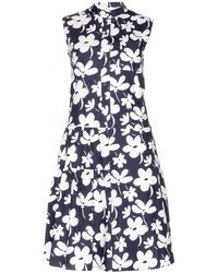 Marni Floralprint Cotton Dress - Lyst