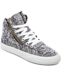 Supra Gray Cuttler Sneaker - Lyst