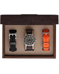 Filson - 'mackinaw Field' Leather Strap Watch Box Set - Lyst