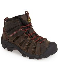 Keen 'Voyageur' Mid Hiking Boot black - Lyst