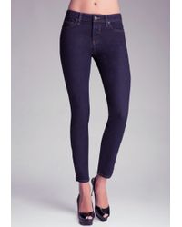 Bebe Slim Decatur Jeans - Lyst