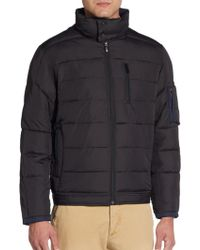 Rainforest Quilted Bomber Jacket - Lyst