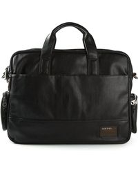 Diesel Multiple Pockets Briefcase - Lyst