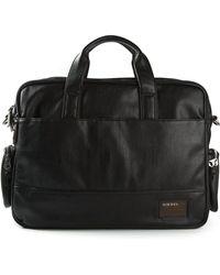 Diesel Multiple Pockets Briefcase - Lyst