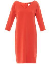Max Mara Studio Red Palmira Dress - Lyst