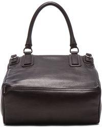 Givenchy Medium Waxy Leather & Studs Pandora - Lyst