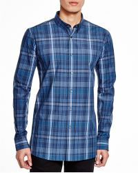 BOSS | Hugo Elisha Plaid Slim Fit Button Down Shirt | Lyst