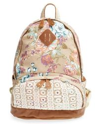 Nila Anthony - Floral Print Backpack - Lyst