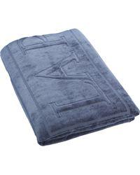 La Perla Accessories Beach Towel blue - Lyst