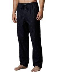 Polo Ralph Lauren Pony Print Flannel Pajama Pants - Lyst
