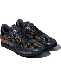 Raf Simons Mens Metallic Runners - Lyst