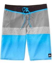 Quiksilver Cutting It Colorblocked Boardshorts - Lyst