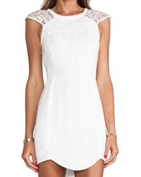 Cameo Into The Flame Dress in Ivory - Lyst