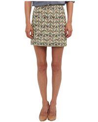 Kate Spade Summer Tweed Harper Skirt - Lyst