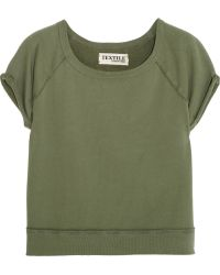 Textile Elizabeth and James - Cotton-Terry Sweatshirt - Lyst
