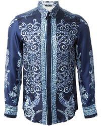 Versace Baroque Print Shirt - Lyst
