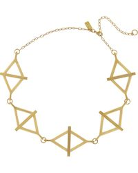 Pamela Love Multibalance Goldtone Necklace - Lyst