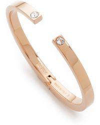 Vita Fede - Solitaire Crystal Bracelet - Lyst