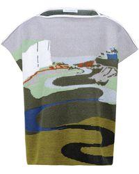 J.W. Anderson Sleeveless Sweater - Lyst