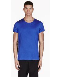 Acne Studios Blue Basic T Shirt - Lyst