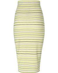 Jane Norman Printed Pencil Skirt - Lyst