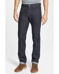 AG Adriano Goldschmied 'Matchbox' Slim Fit Selvedge Jeans - Lyst