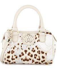 Roberto Cavalli Girls Leopard Print Crossbody Bag - Lyst