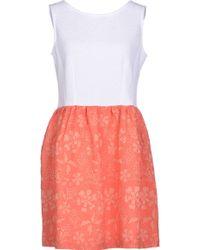 Gaëlle Bonheur Short Dress - Lyst