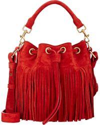 Saint Laurent Emmanuelle Small Bucket Bag - Lyst