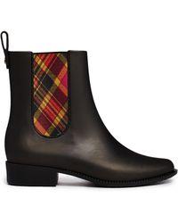 Melissa + Vivienne Westwood Anglomania - Plaid Chelsea Boots - Lyst