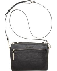 Cole Haan Black Reddington Crossbody - Lyst