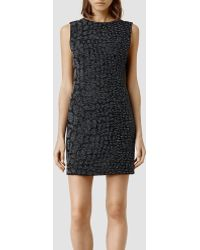 AllSaints Ravel Dress - Lyst