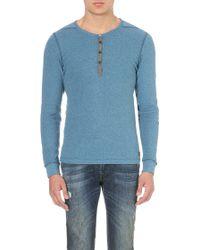 Diesel T-dhice Cotton T-shirt - Lyst