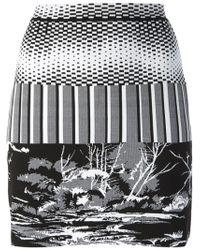 Balenciaga G Mini Skirt - Lyst