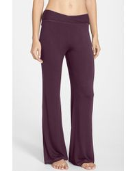 Midnight By Carole Hochman | Pull-on Lounge Pants | Lyst