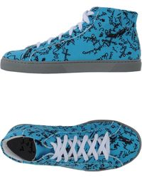 Twins For Peace - High-top Sneaker - Lyst
