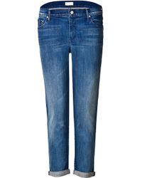 Mother The Dropout Slouchy Skinny Jeans - Lyst