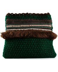Zeus+dione Mycene Wool Shoulder Bag - Lyst