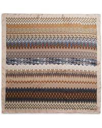 Missoni Silk Weave-Print Scarf - Lyst