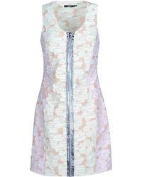 Markus Lupfer Short Dress floral - Lyst