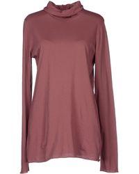 Manila Grace T-Shirt purple - Lyst