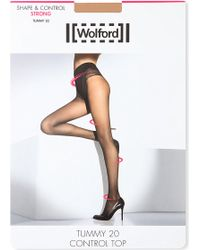 Wolford Tummy Control Top Tights - Lyst
