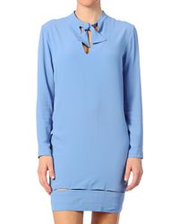 Cacharel Silk Dress - Lyst