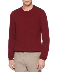 Gucci Wool and Cashmere Crewneck Sweater - Lyst