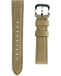 Shinola - Interchangeable Olive Green Outrigger Leather Watch Strap, 18mm - Lyst